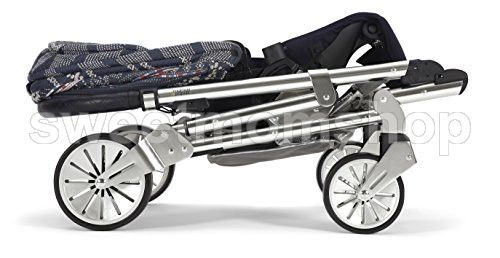 Mamas & Papas Urbo2 Pushchair, Navy Aztec