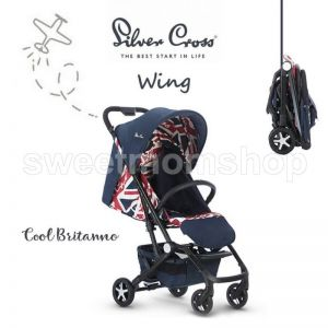 Silver Cross Wing - Cool Britania