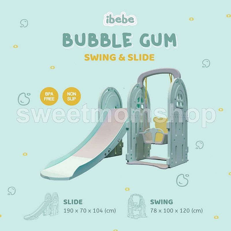 IBEBE Bubblegum - Slide & Swing