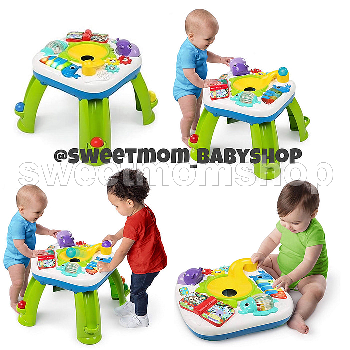 Brightstarts get rolling activity table