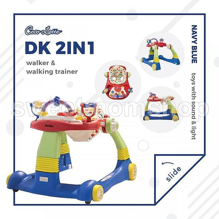 Cocolatte 2 in 1 walker cl1100 - Navy