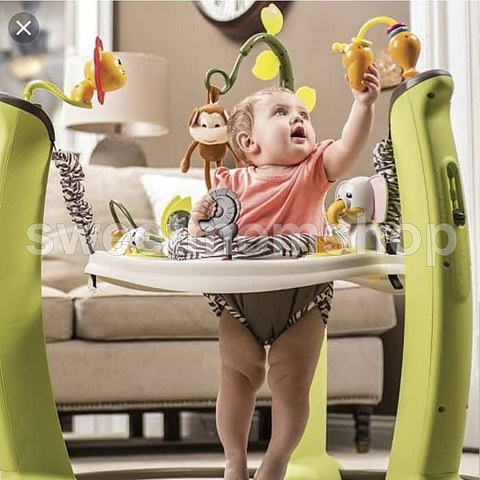 Exersaucer Jump and Learn Jungle Quest