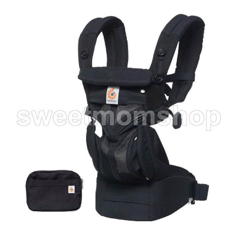 Ergobaby Omni 360 All Carry Positions Baby Carrier with Cool Air Mesh - Onxy Black