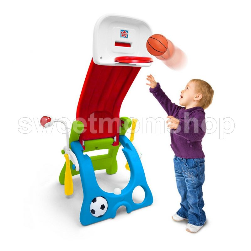 Grow n Up Quick Flip 6 in 1 Sport Activity Center
