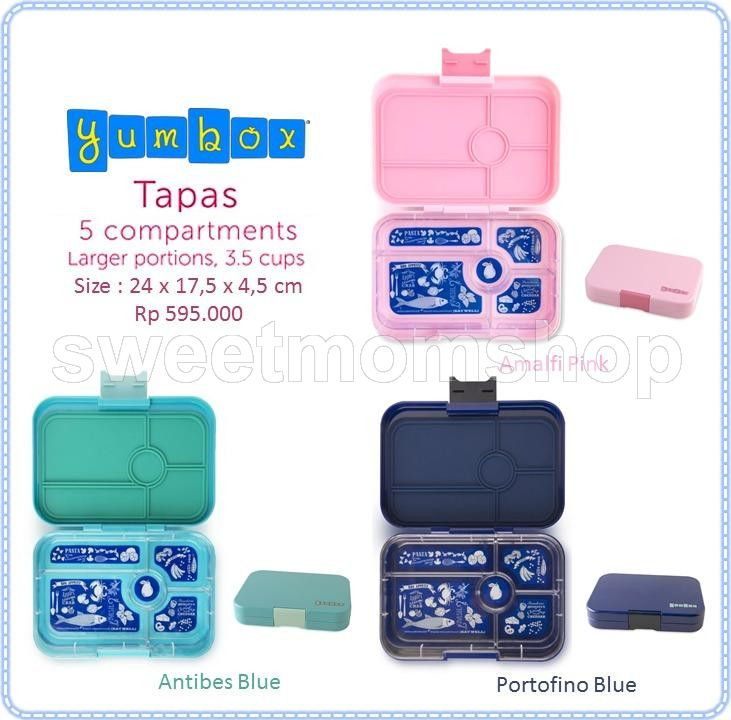 Yumbox Tapaz 5 Compartments