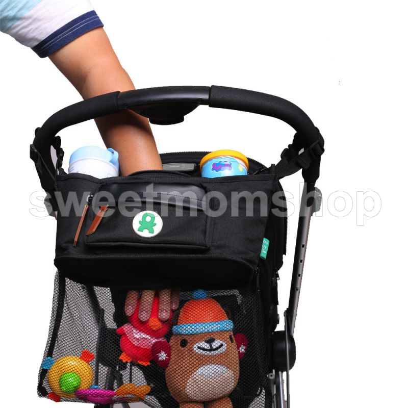 Stroller Organiser with Nett Storage