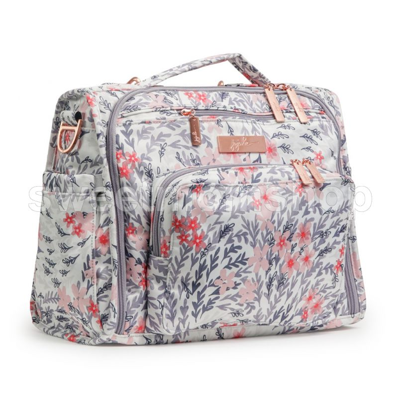 Jujube BFF Diaperbag - Rose Gold Diaper Bag - Sakura Swirl