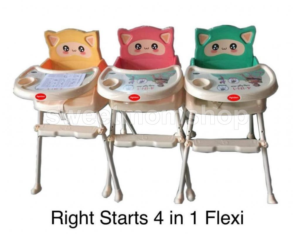 Rightstarts 4 in 1 Highchair